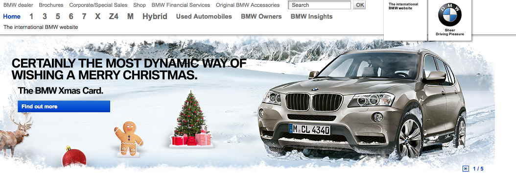 Bmw Christmas Cards Vs Mercedes Holiday Cards Aaronwagner7000